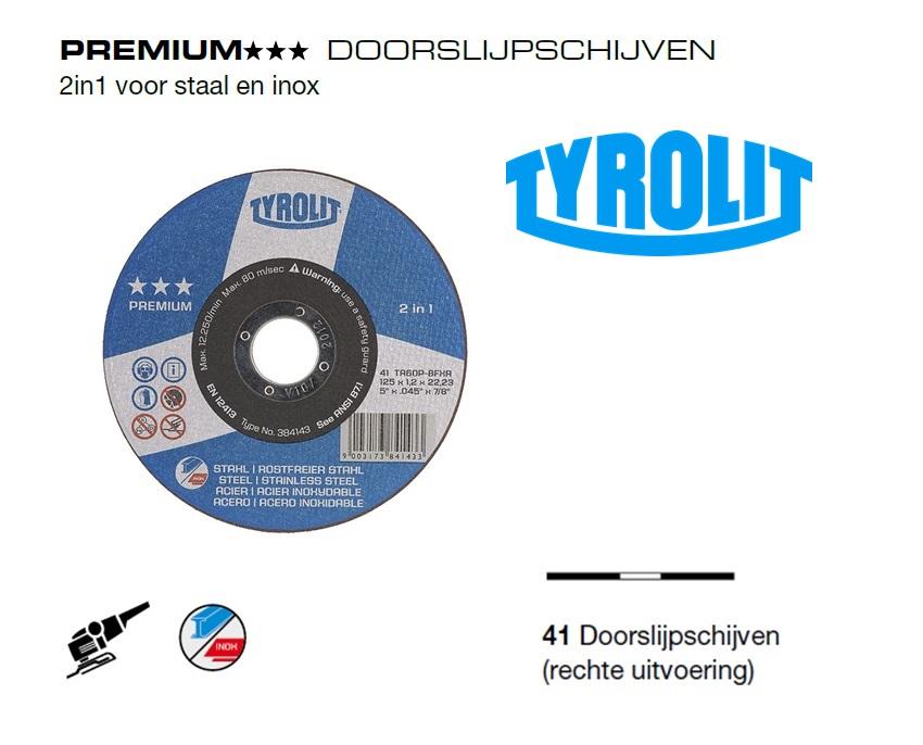 Doorslijpschijven 41 PREMIUM 2 in 1 | DKMTools - DKM Tools
