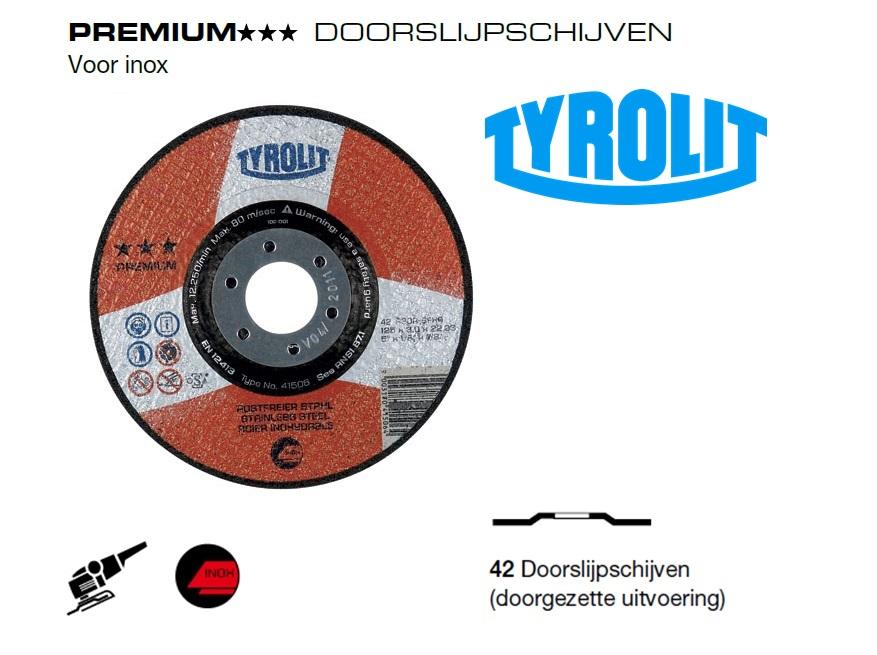Doorslijpschijven 42 PREMIUM inox | DKMTools - DKM Tools