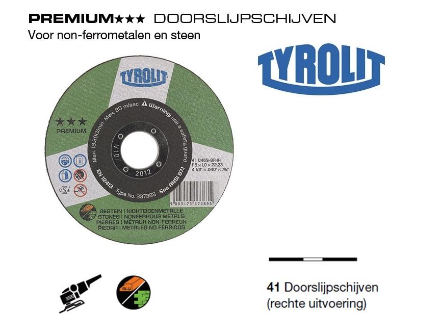 Doorslijpschijven 41 PREMIUM Alu Steen | DKMTools - DKM Tools