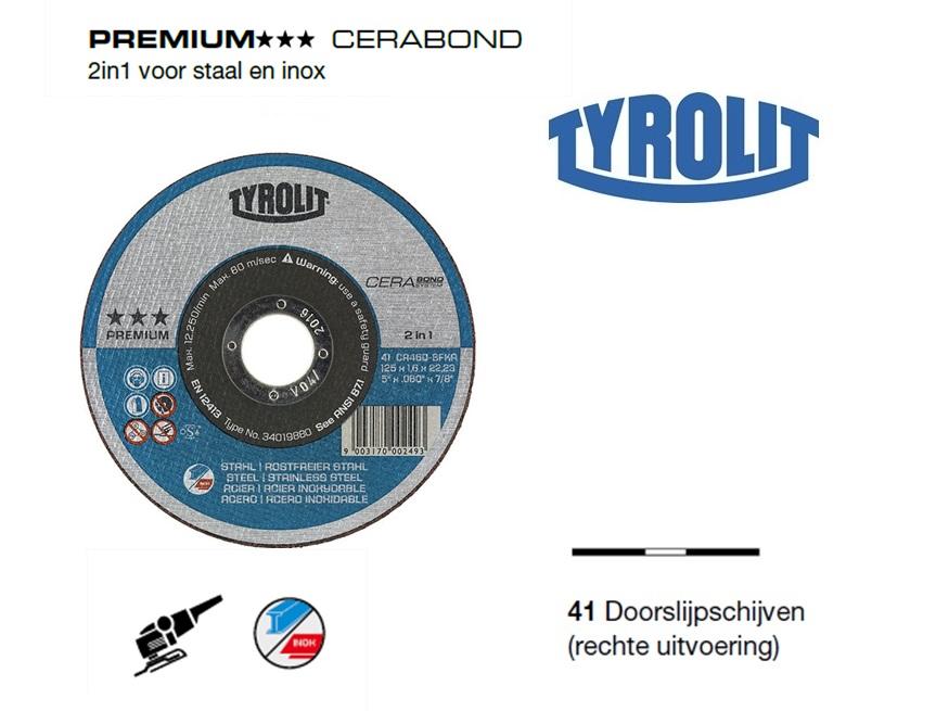 Doorslijpschijven 41 PREMIUM cerabond | DKMTools - DKM Tools
