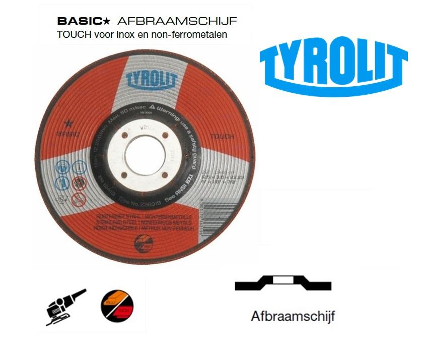 Afbraamschijven.TOUCH Basic | DKMTools - DKM Tools