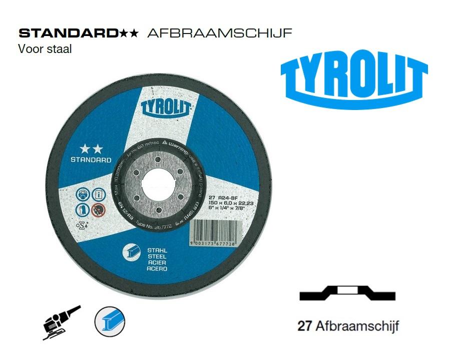 Afbraamschijven. Standard Staal | DKMTools - DKM Tools