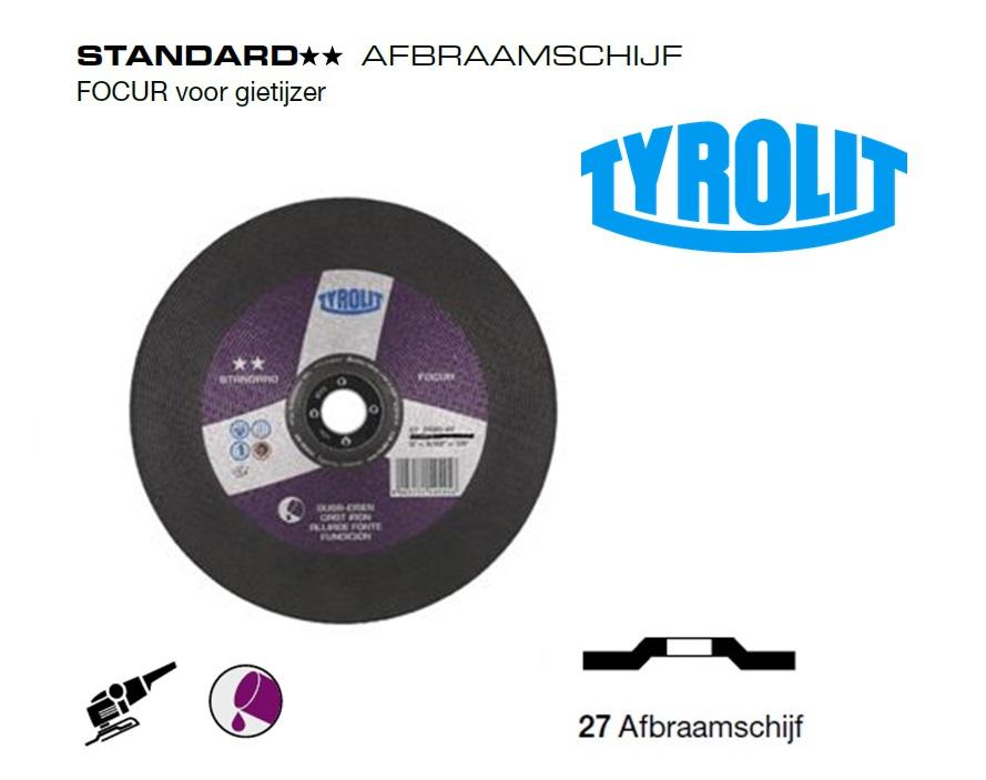 Afbraamschijven.Standard Gietijzer | DKMTools - DKM Tools