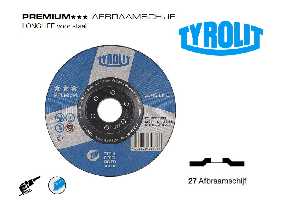 Afbraamschijven.PREMIUM Staal | DKMTools - DKM Tools