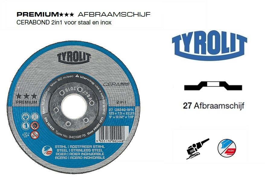 Afbraamschijven.PREMIUM CERABOND 2in1 | DKMTools - DKM Tools