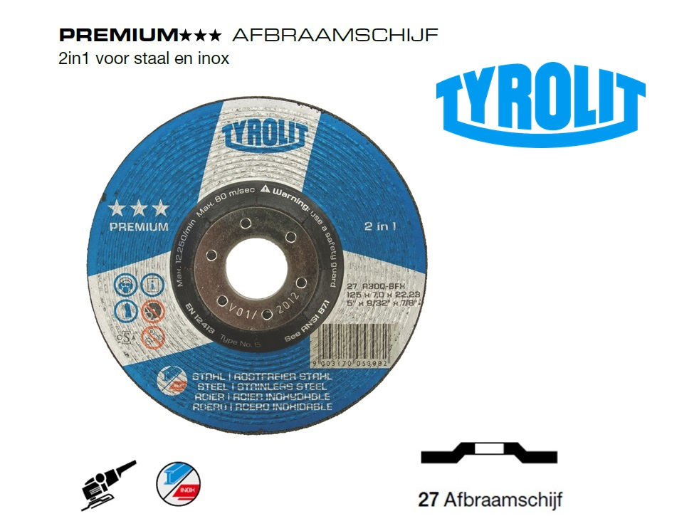 Afbraamschijven.PREMIUM 2 in 1 | DKMTools - DKM Tools