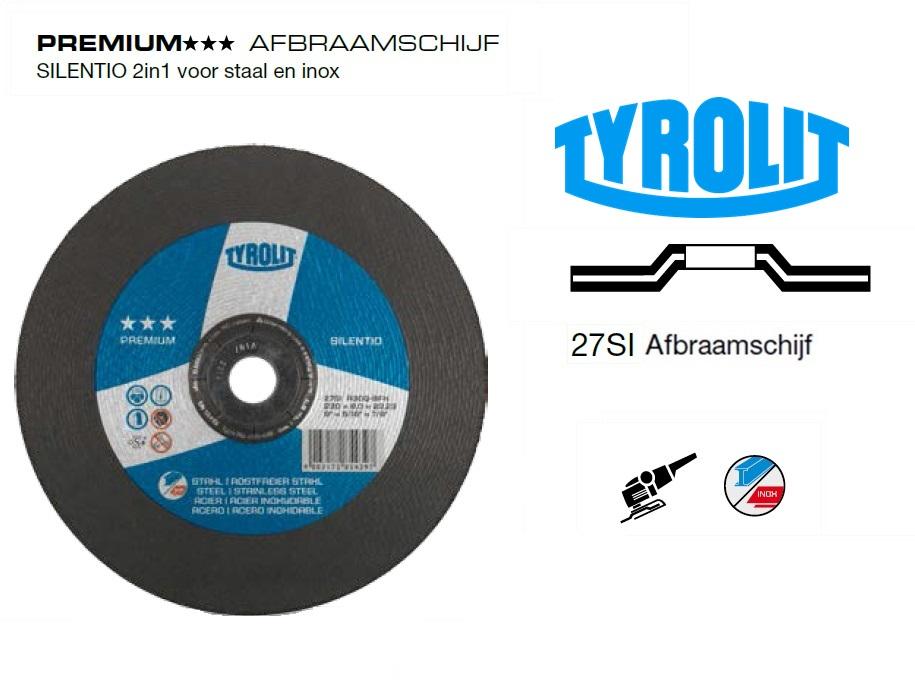 Afbraamschijven.PREMIUM SILENTIO 2 in 1 | DKMTools - DKM Tools