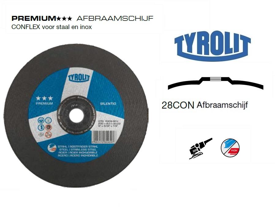 Afbraamschijven.PREMIUM CONFLEX 2 in 1 | DKMTools - DKM Tools