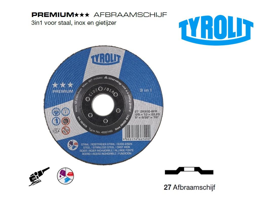 Afbraamschijven.PREMIUM staal inox en gietijzer | DKMTools - DKM Tools