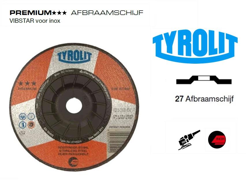 Afbraamschijven.PREMIUM VIBSTAR inox | DKMTools - DKM Tools