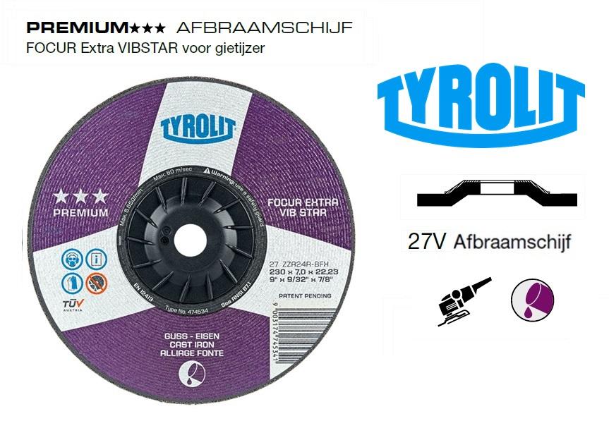 Afbraamschijven.PREMIUM FOCUR Extra VIBSTAR | DKMTools - DKM Tools
