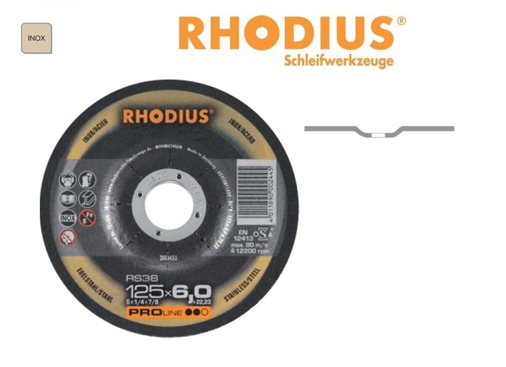 Rhodius Afbraamschijven INOX RS38 PRO | DKMTools - DKM Tools