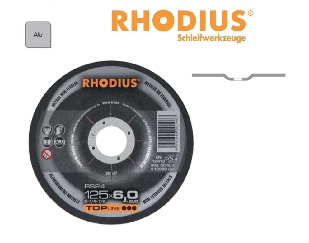 Rhodius Afbraamschijven RS 24 PRO aluminium | DKMTools - DKM Tools