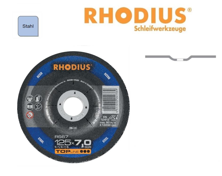 Rhodius Afbraamschijven RS 67 TOP Staal | DKMTools - DKM Tools