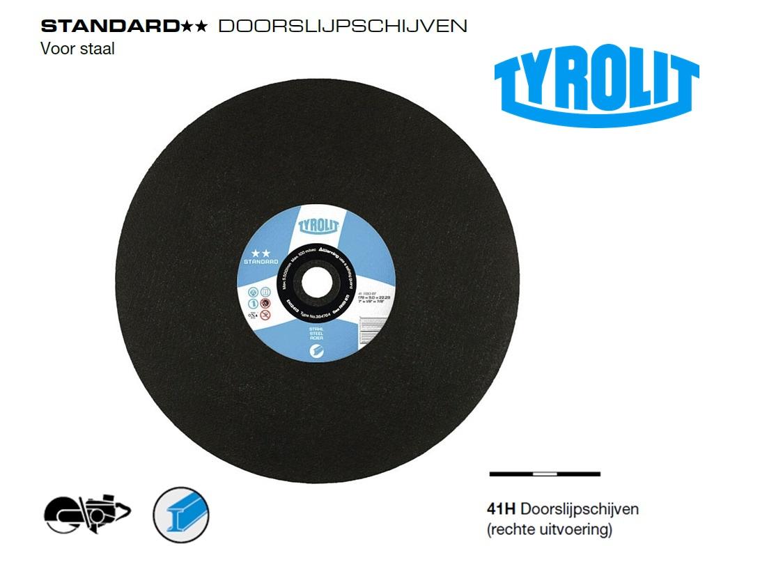 Doorslijpschijven. Standard Staal | DKMTools - DKM Tools