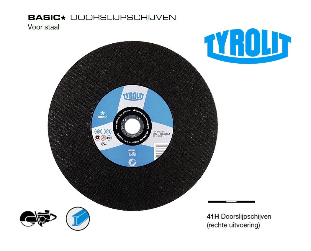 Doorslijpschijven. Basic Staal | DKMTools - DKM Tools