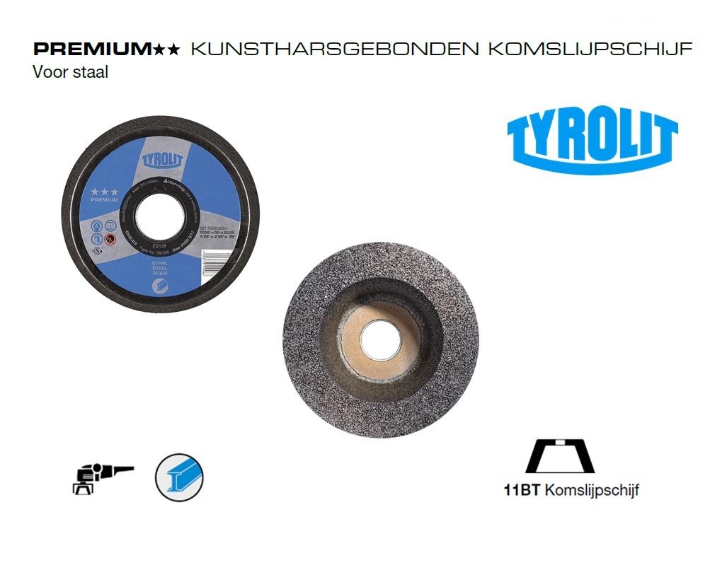 Komslijpschijven. 11BT Staal PREMIUM | DKMTools - DKM Tools