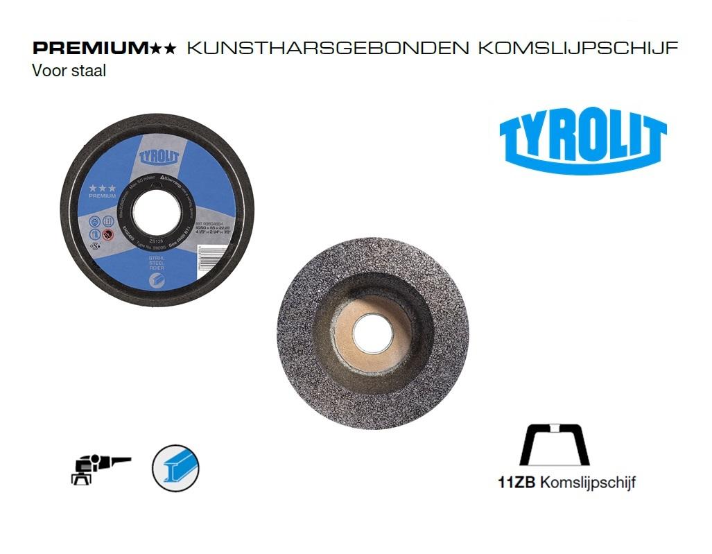 Komslijpschijven. 11ZB Staal PREMIUM | DKMTools - DKM Tools
