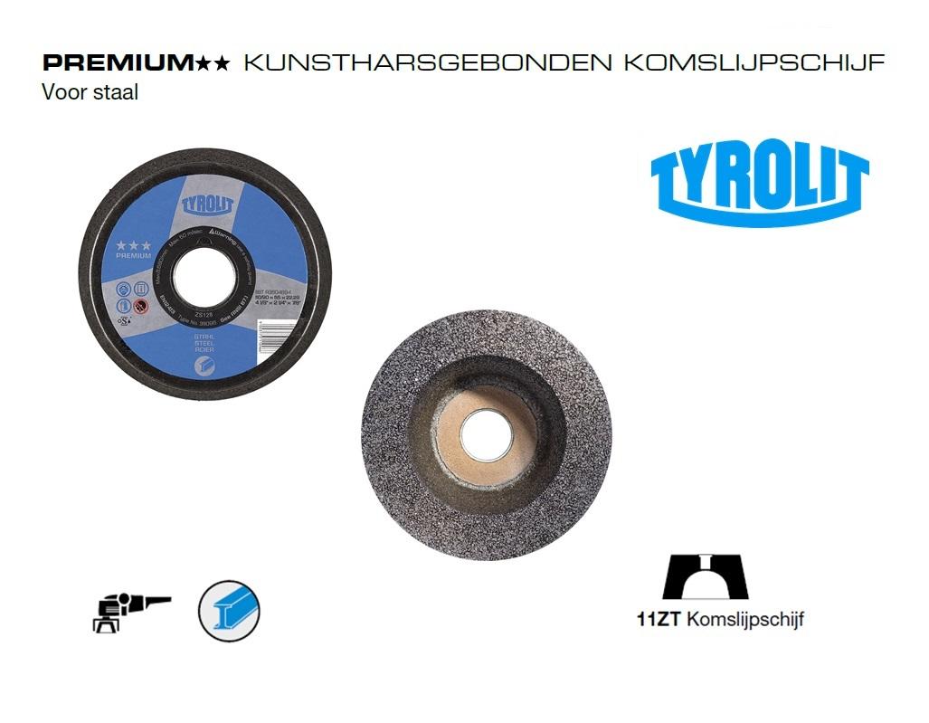 Komslijpschijven. 11ZT Staal PREMIUM | DKMTools - DKM Tools