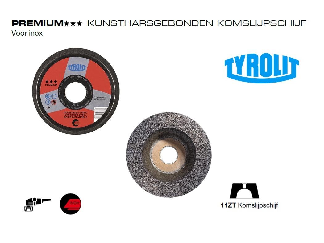 Komslijpschijve.n 11ZT Inox PREMIUM | DKMTools - DKM Tools