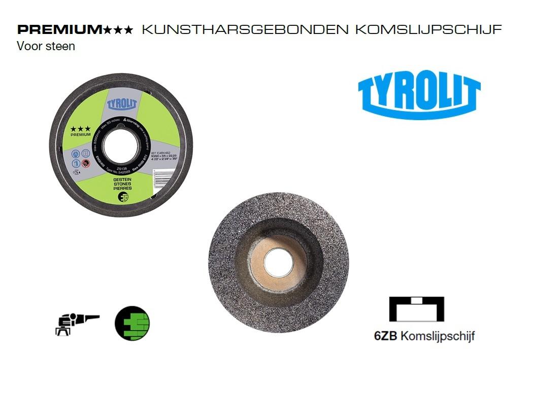 Komslijpschijven. 6ZB Steen PREMIUM | DKMTools - DKM Tools