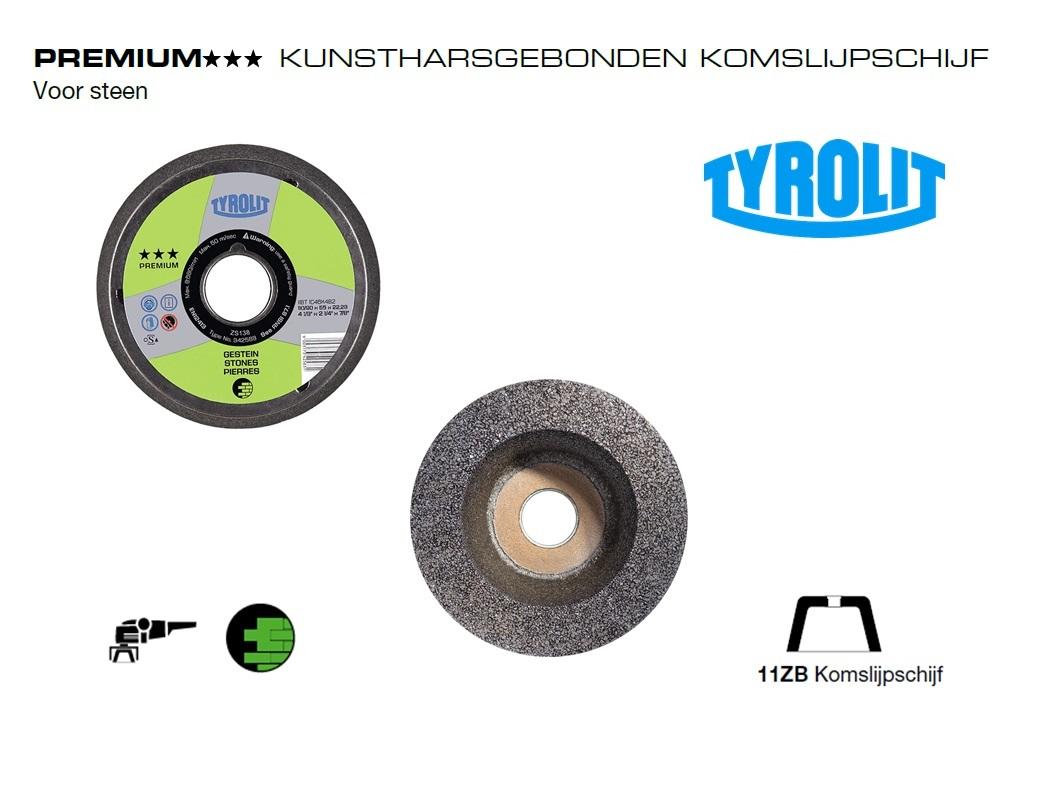 Komslijpschijven. 11ZB Steen PREMIUM | DKMTools - DKM Tools