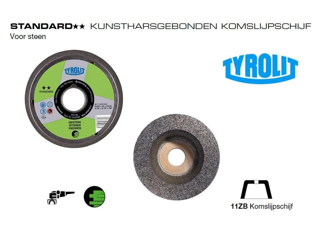 Komslijpschijven. 11ZB Steen Standard | DKMTools - DKM Tools