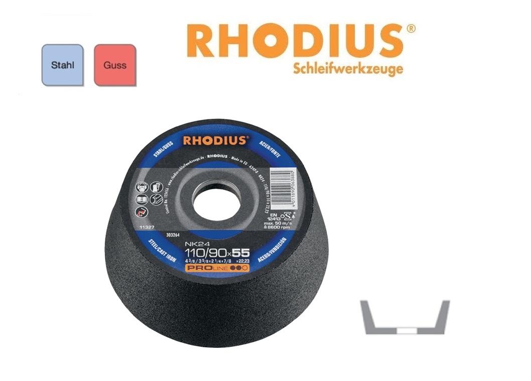 RHODIUS Komslijpschijven NK 24 | DKMTools - DKM Tools