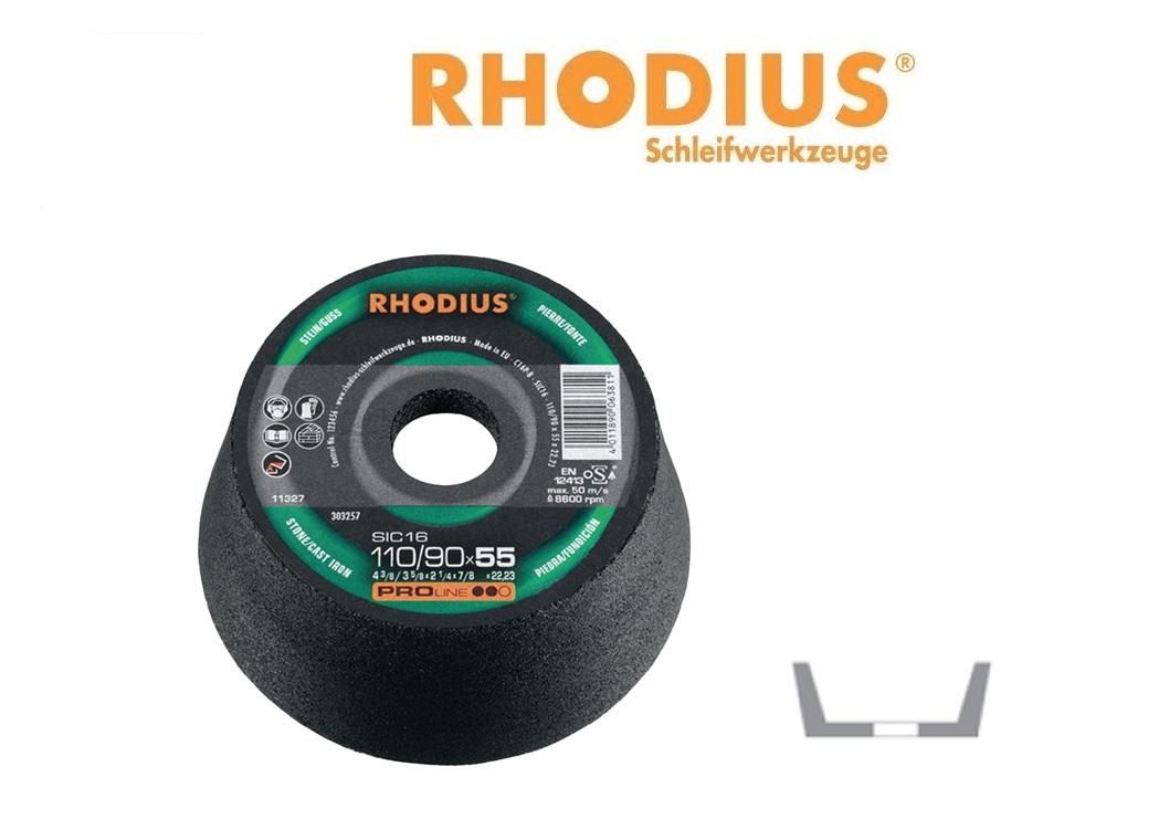 RHODIUS Komslijpschijven SIC 24 | DKMTools - DKM Tools