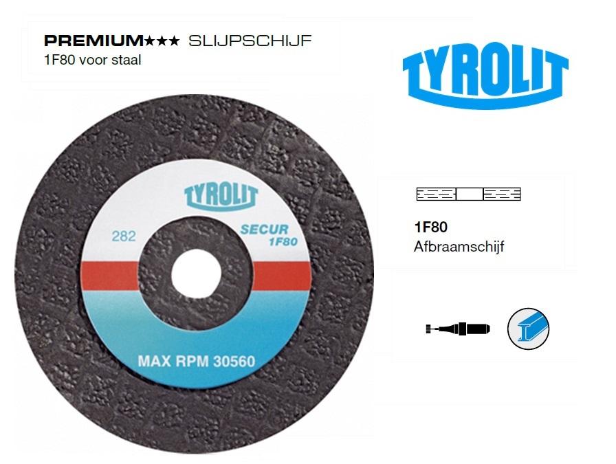 SlijpSchijf 1F80 voor staal | DKMTools - DKM Tools