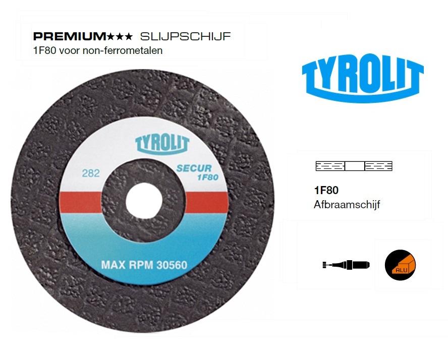 SlijpSchijf 1F80 voor non ferrometalen | DKMTools - DKM Tools