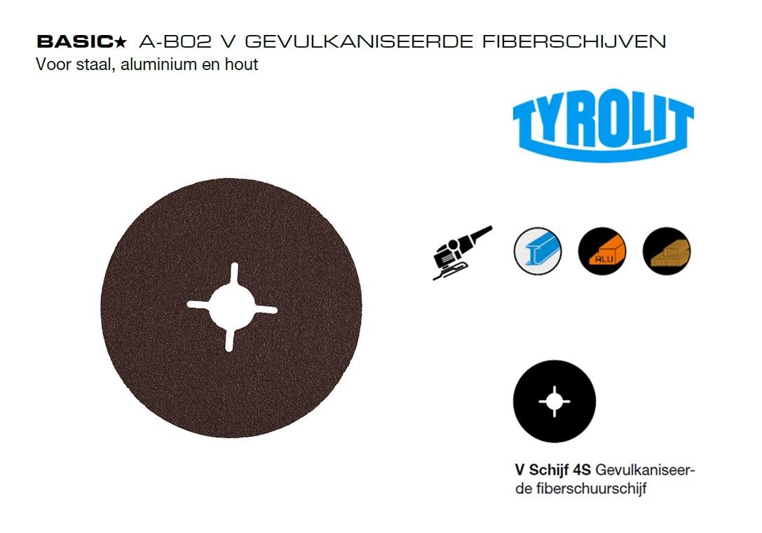 Fiberschijven.A B02 V Tyrolit | DKMTools - DKM Tools