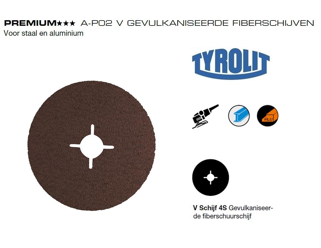 Fiberschijven. A P02 V Tyrolit | DKMTools - DKM Tools