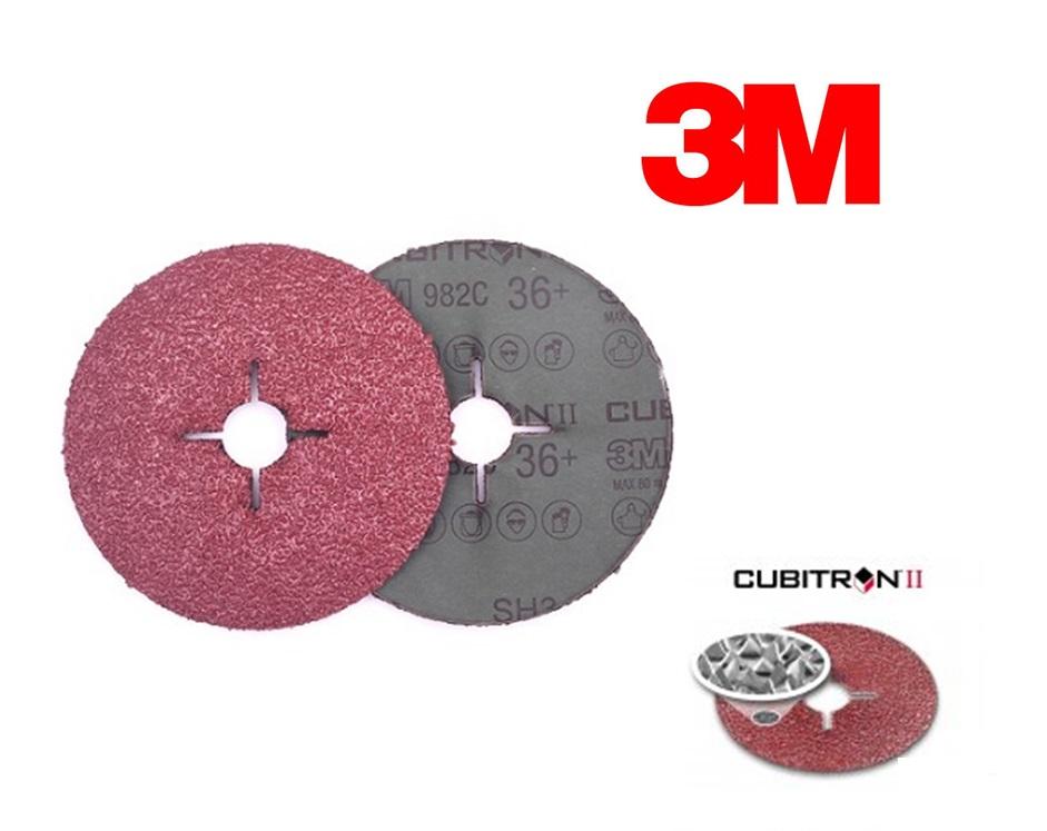 3M Cubitron II Fiber schuurschijf 982C | DKMTools - DKM Tools