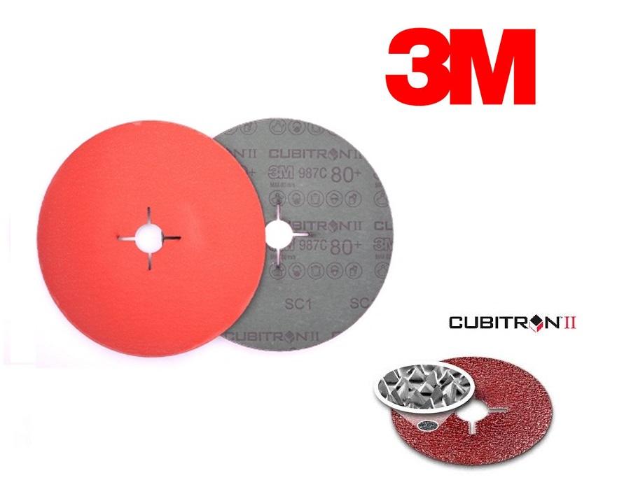 3M Cubitron II Fiber schuurschijf 987C | DKMTools - DKM Tools