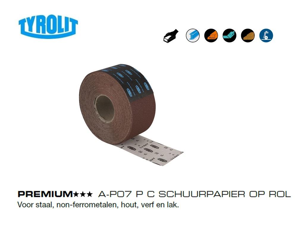 Schuurpapier op Rol A P07   DKMTools - DKM Tools