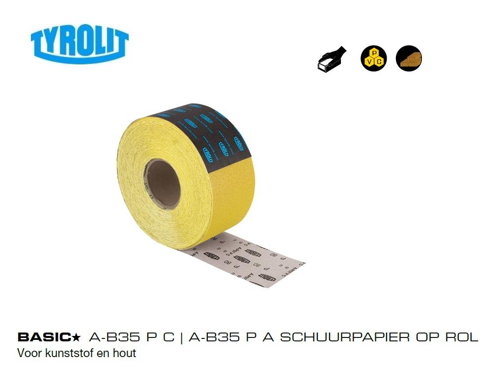 Schuurpapier op Rol kunststof en hout   DKMTools - DKM Tools