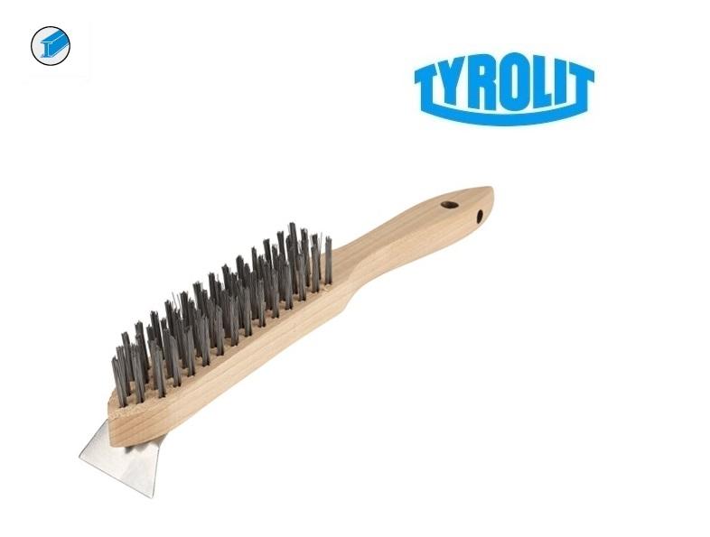 staalborstel voor Staal met krabber | DKMTools - DKM Tools