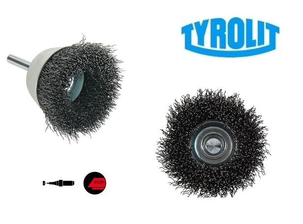 Komborstels. op stift 52TDW inox | DKMTools - DKM Tools