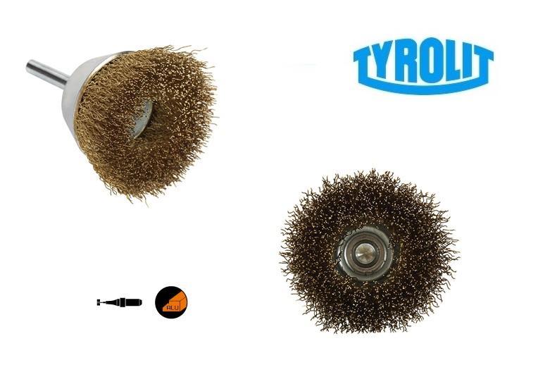 Komborstels. op stift 52TDW non ferrometalen | DKMTools - DKM Tools