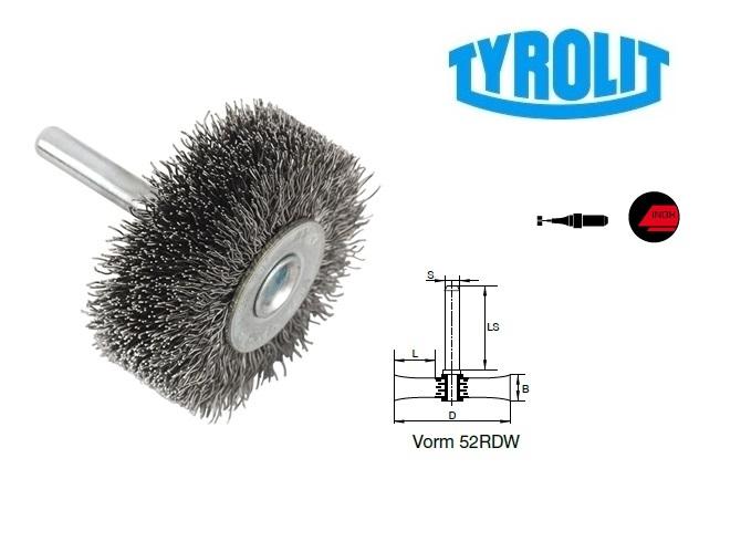 Rondborstels. 52RDW inox | DKMTools - DKM Tools