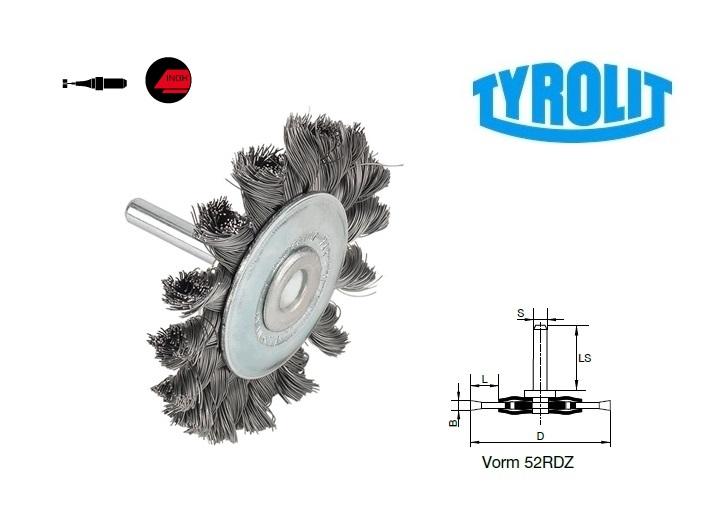 Rondborstels. 52RDZ inox | DKMTools - DKM Tools