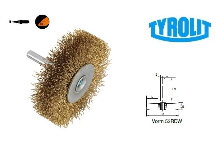 Rondborstels. 52RDW non ferrometalen | DKMTools - DKM Tools