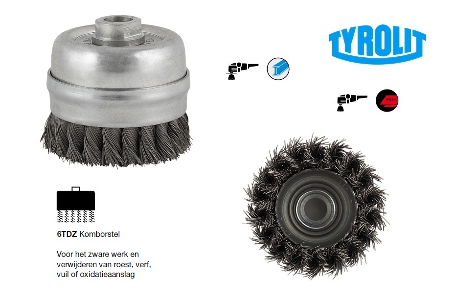 Komborstel 6TDZ | DKMTools - DKM Tools