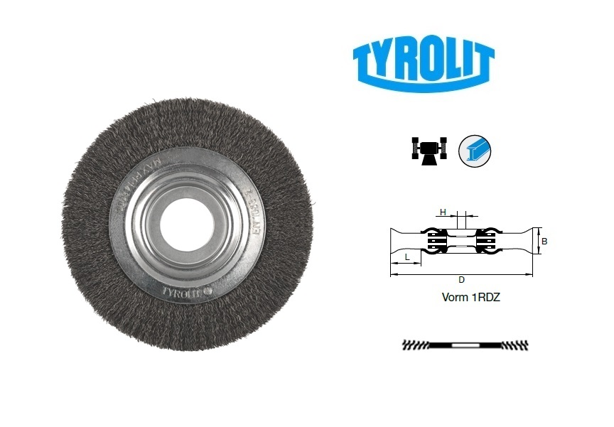 Draadborstels 1RDZ | DKMTools - DKM Tools