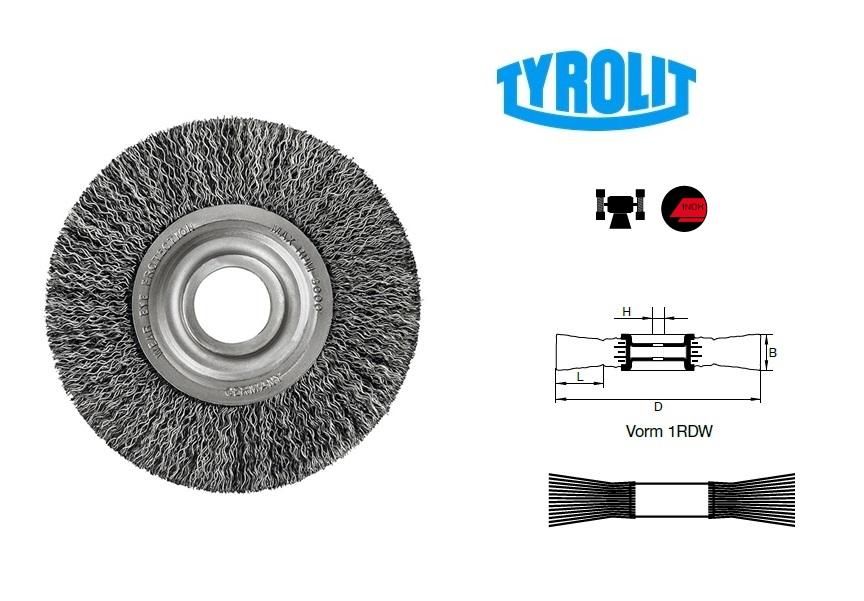 Draadborstels 1RDW inox | DKMTools - DKM Tools