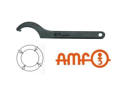 Haaksleutel DIN1810B met pin AMF | DKMTools - DKM Tools