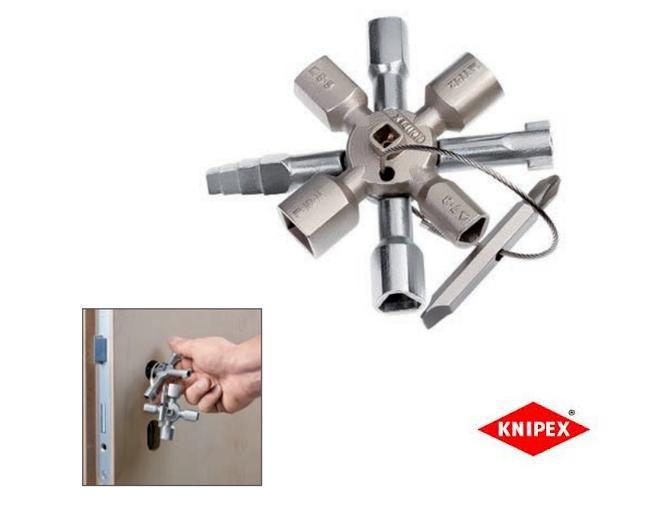 KNIPEX TwinKey schakelkast sleutel | DKMTools - DKM Tools
