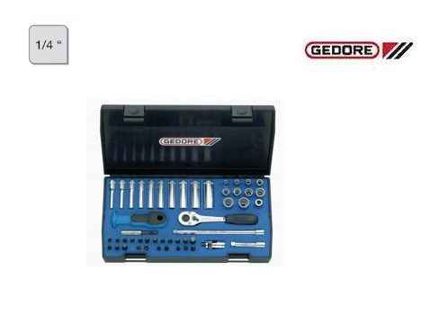 Gedore 20 ITU 3 Dopsleutelset | DKMTools - DKM Tools