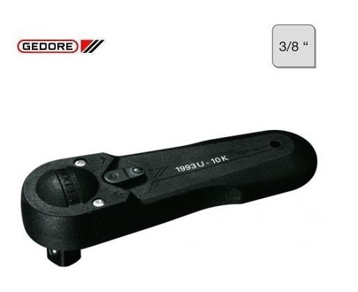 Gedore 1993 U 10 K Omschakelbare ratel 3 8 | DKMTools - DKM Tools
